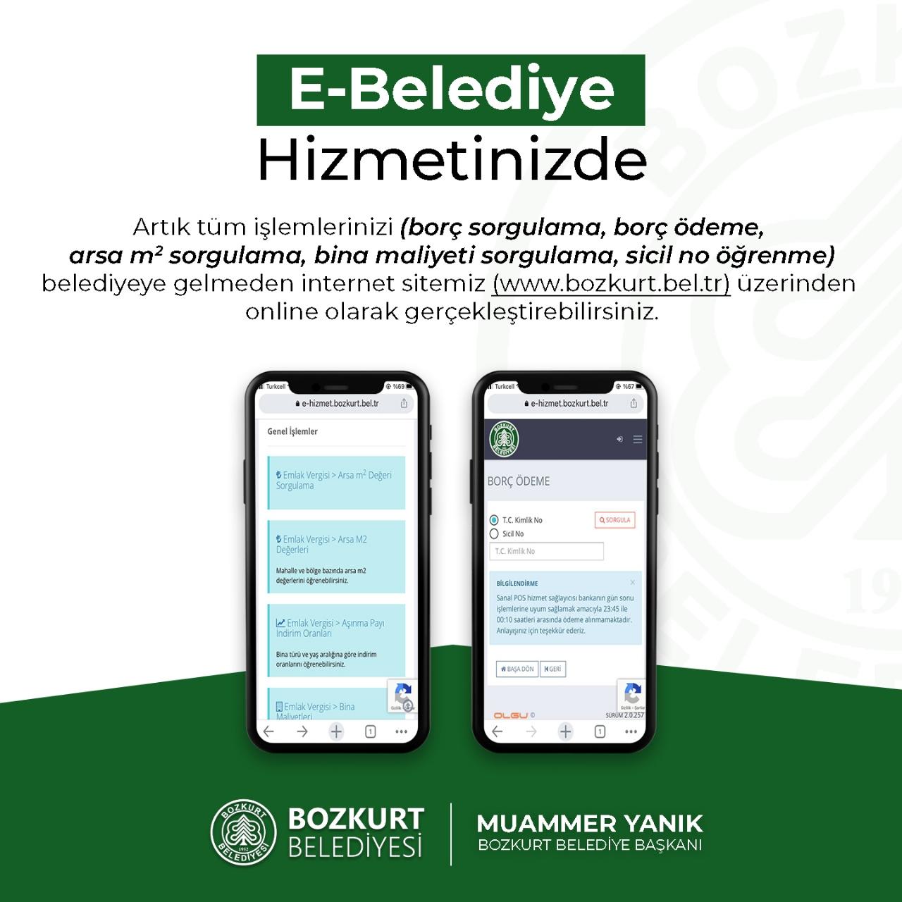 E-belediye Uygulaması Hizmete Sunuldu