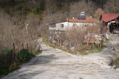 Çakmak Sokak Yolu Parke Kaplandı