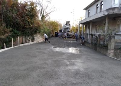 Yeni Mahallede Menfez ve Yol Çalışması