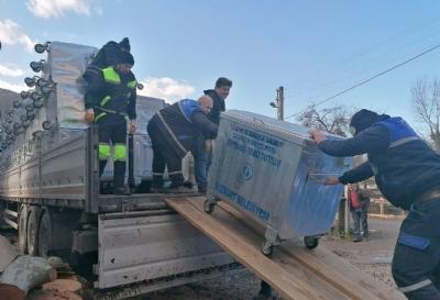 Belediyemize 117 Adet Çöp Konteynırı Alındı