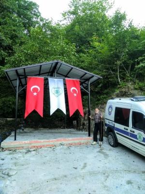 Şen Mahalle'de Kurban Kesim Yeri Tamamlandı