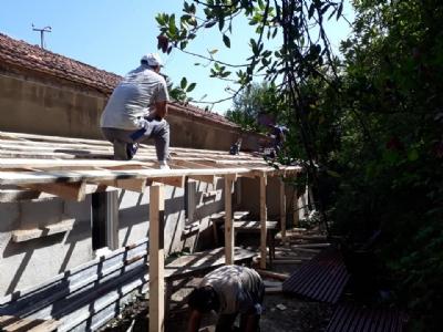 Hamza Mahallemizde Bayram Yeri Bakım ve Onarım Çalışması Tamamlandı