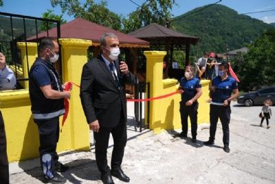 Yılmaz Semtinde Yeni Park Yapımı Tamamlandı