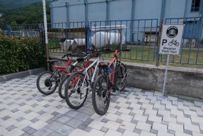 Bisiklet Park Yeri Kurulumu Tamamlandı