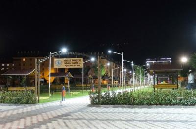 Millet Bahçesi Sağlıklı Yaşam ve Açık Spor Alanı